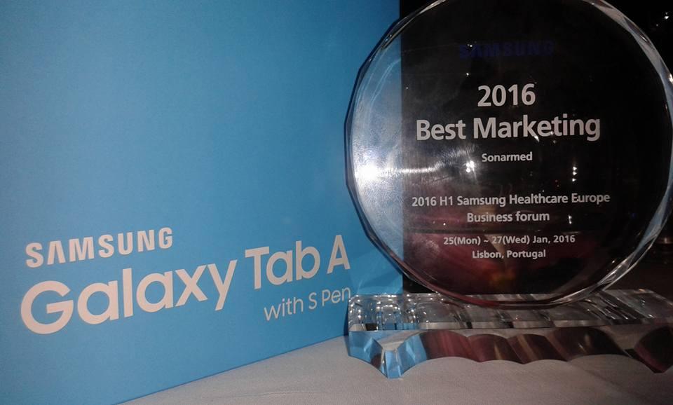SONARMED - Best Marketing díj, 2016, Lisszabon