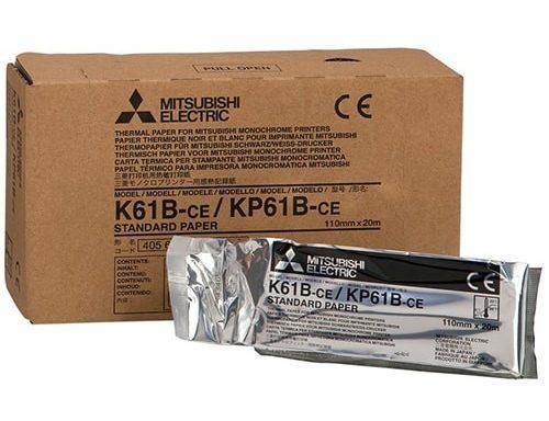 Mitsubishi kisfelbontású, matt hőpapír – K61B / KP61B