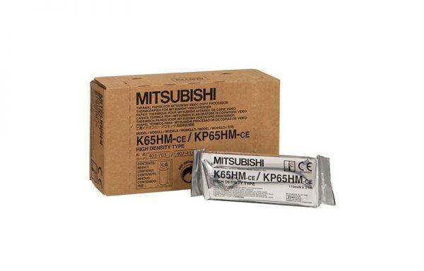 Mitsubishi nagyfelbontású hőpapír – K65HM / KP65HM