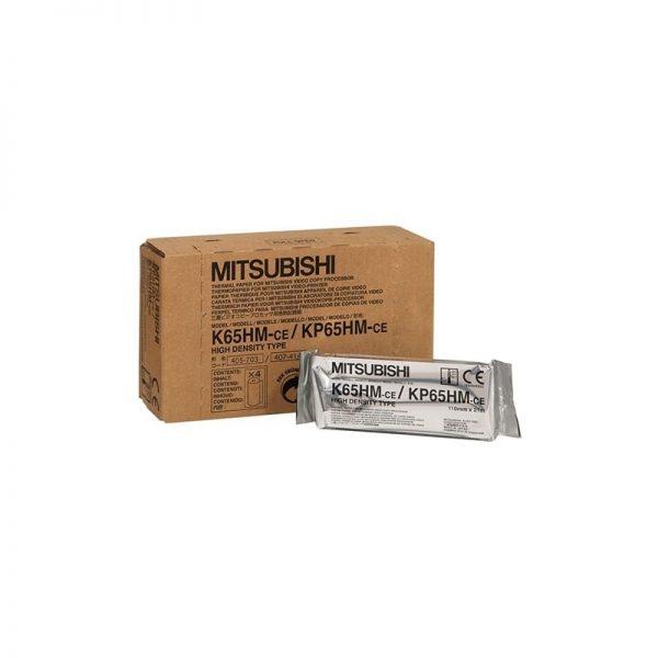 Mitsubishi nagy felbontású fényes hőpapír - K65HM/KP65HM