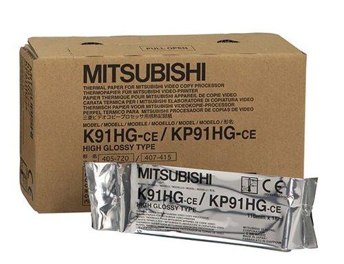 Mitsubishi nagyfelbontású fényes hőpapír – K91HG / KP91HG