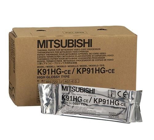 Mitsubishi nagy felbontású fényes hőpapír - K91HG / KP91HG
