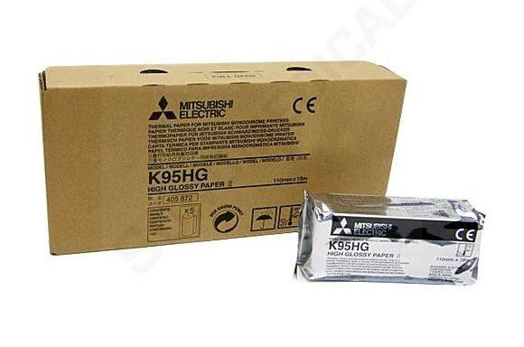 Mitsubishi nagyfelbontású szuperfényes hőpapír – K95HG / KP95HG