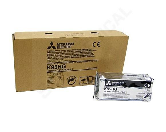 Mitsubishi nagyfelbontású, szuperfényes hőpapír - K95HG / KP95HG