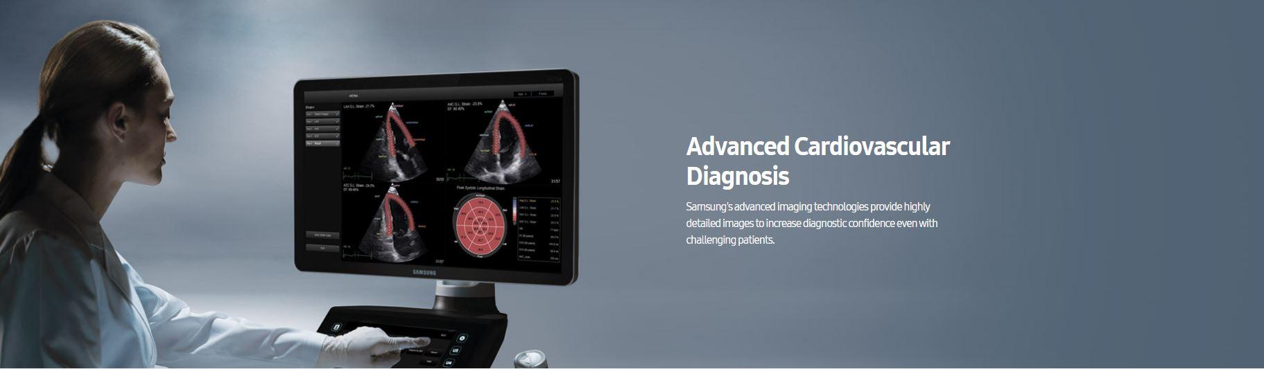Samsung HS40 cardiovascular ultrahang készülék esetképek