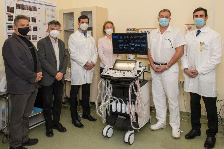 Samsung Medison RS85 Prestige ultrahang készülék az Onkológián