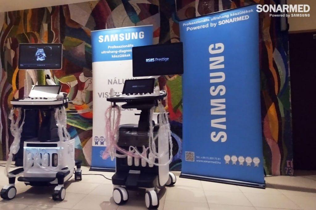 Samsung HERA W9 és Samsung RS85 Prestige prémium kategóriás ultrahang készülékek